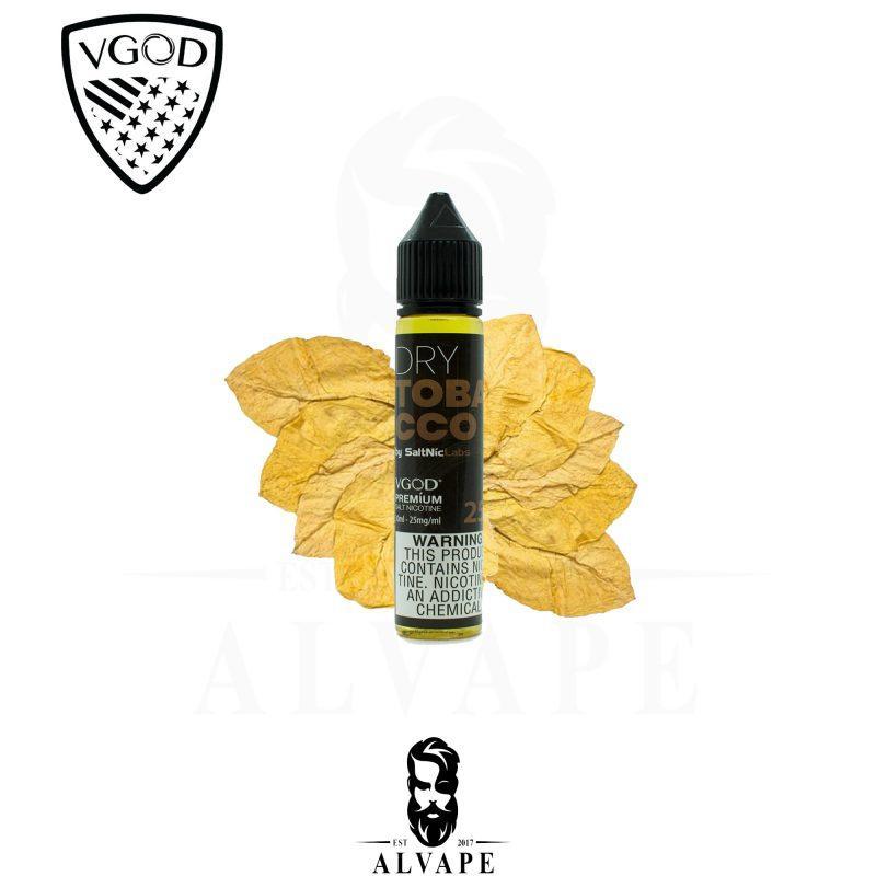 نكهة دراي توباكو, نكهة دراي توباكو في جاد سولت نيكوتين, VGOD Dry Tobacco,