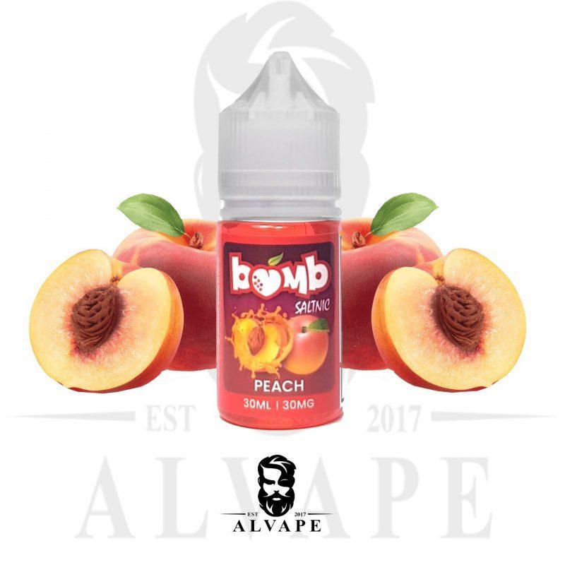 نكهة بومب خوخ, نكهة بومب خوخ سولت نيكوتين, Bomb Ice Peach Salt,